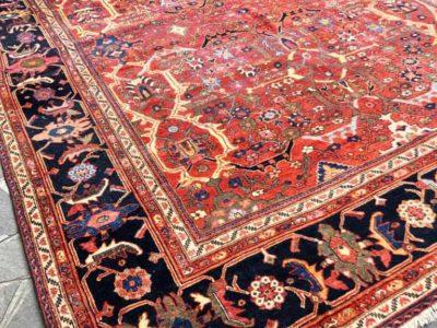 Riparazione tappeto persiano